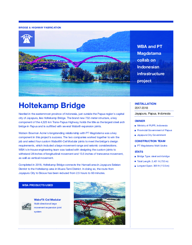 Holtekamp Bridge Cover