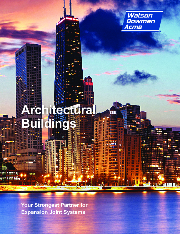 WBA Architectural Buildings Cover